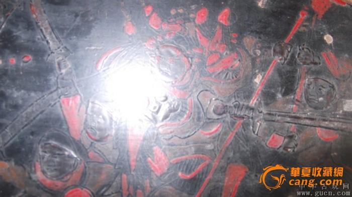 国画人物手绘,包是民国画板,六个人在演故事