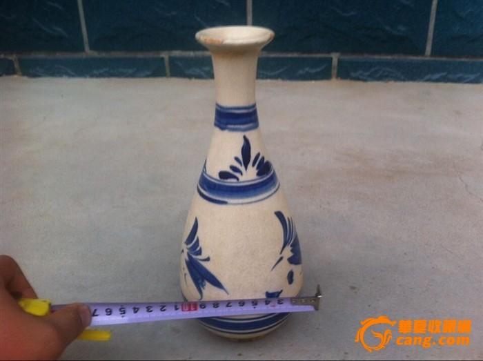 漂亮青花瓶子