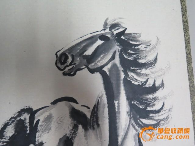 徐悲鸿骏马图画