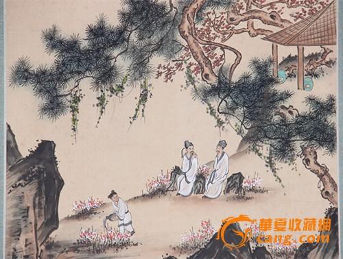 唐寅山水人物画