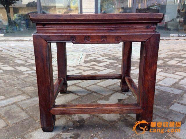 苏工榉木方凳一只