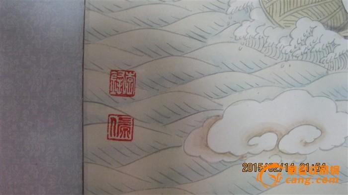 工笔画【八仙过海】
