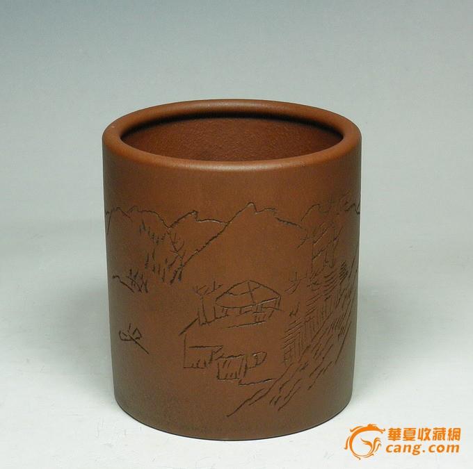 早期精典紫砂壶/台湾回流壶/90年代老壶/笔筒