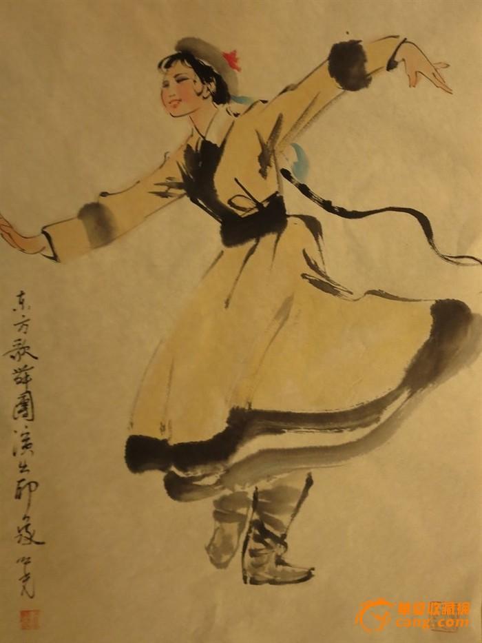 黄衣服女孩,画廊优惠,包邮纯手绘