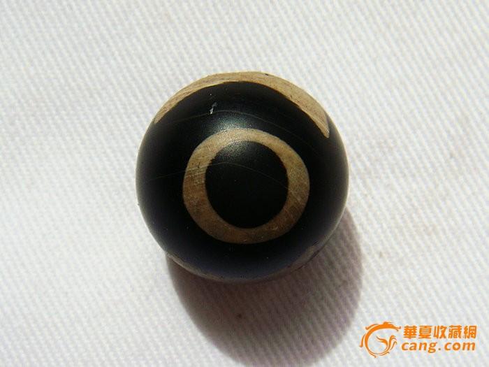 清代藏传鹰眼老天珠QZY-4