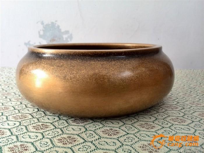 乡下收的明代传世老铜香炉