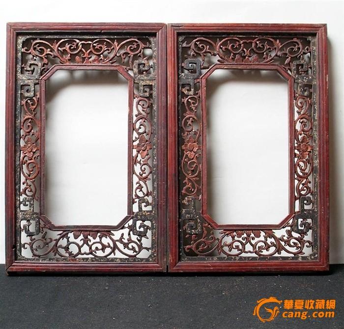 中式花窗边框素材