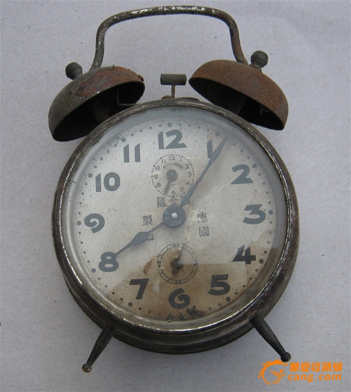 废旧手工制作闹钟