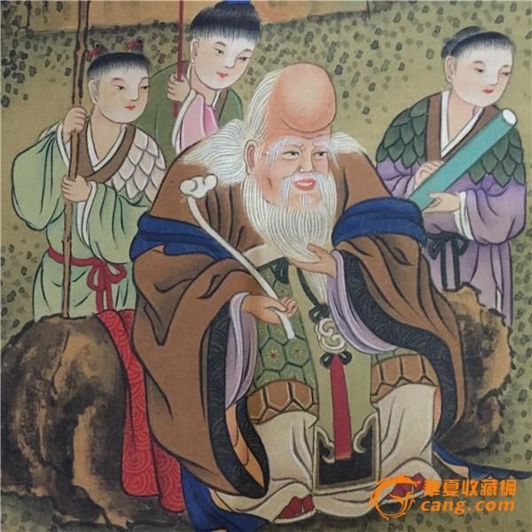 《祝寿图》沈周-中国名画鉴赏语音讲解图片
