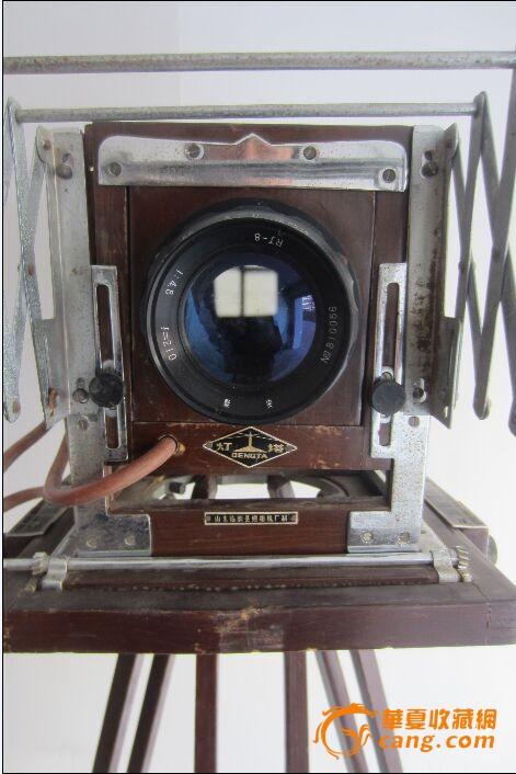 灯塔牌三角架折叠照相机
