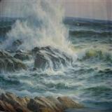 一幅海景油画(补图重发)