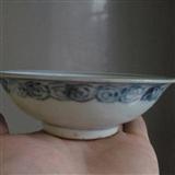 明中期漂亮碗一个