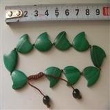 孔雀石,心形手链