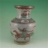 粉彩瓷器花瓶