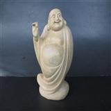 黄杨木雕弥勒
