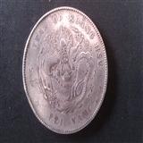 北洋造光绪元宝库平七钱二分银币