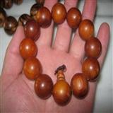 极品红豆杉圆珠手链,直径2.0厘米