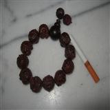 印度小叶紫檀2.0厘米貔貅手链