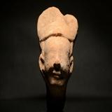 汉代陶俑头图片