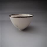 宋定窑印花碗