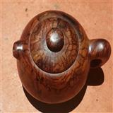海南黄花梨茶壶