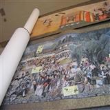 高端书画推介-圆明园行乐图世界金奖艺术家李犀牛书寿字中堂 - gxw2578535 - gxw2578535的博客
