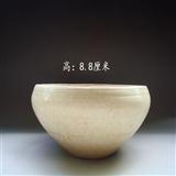北宋时期青釉划莲花茶钵(笔洗)